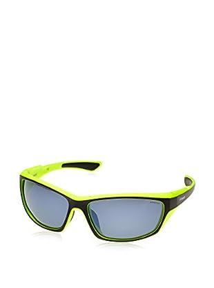 Polaroid Sonnenbrille P7315 (63 mm) schwarz/limette