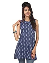 Rajrang Cotton Kurti - PTP00073 (Blue)