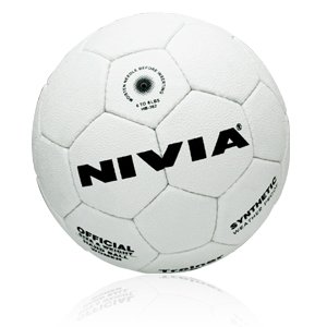Nivia Trainer Synthetic Handball, Youth (White)