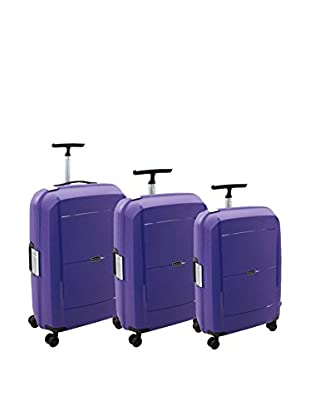 Movom Set de 3 trolleys rígidos