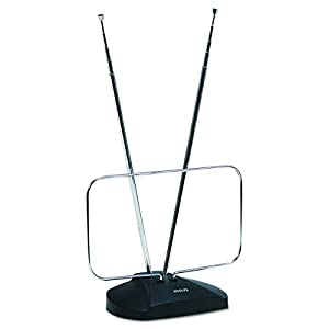 RCA ANT111Z High Quality Durable FM Antenna, Rabbit Ears