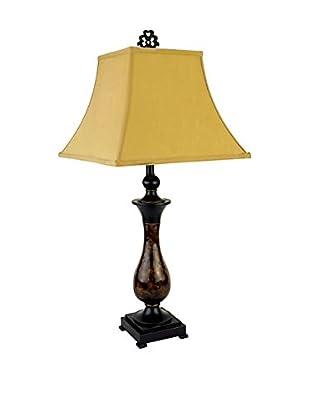 ORE International Classic Table Lamp, Bronze