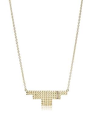 Elizabeth and James Gold-Plated Bauhaus Lariat Necklace