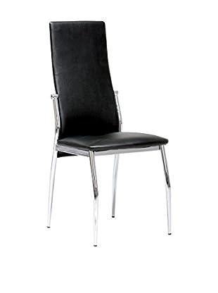 13 Casa Stuhl Barcellona 1 schwarz 99 x 45 x 46 cm
