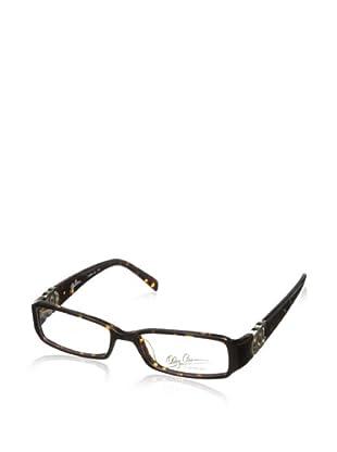 Oleg Cassini Women's OC Hinge Eyeglasses, Tortoise