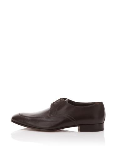 a.testoni BASIC Men's Dress Oxford (Nappa Brown)