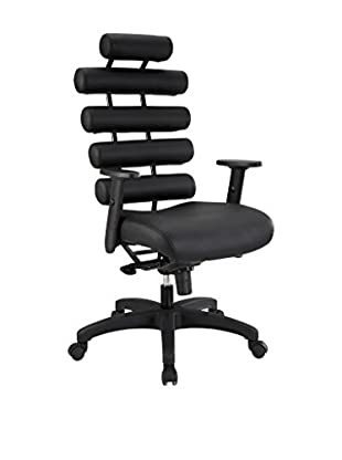 Modway Pillow Office Chair, Black