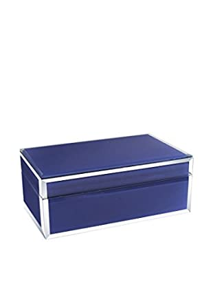 American Atelier Jewelry Box with Piping, Eggplant