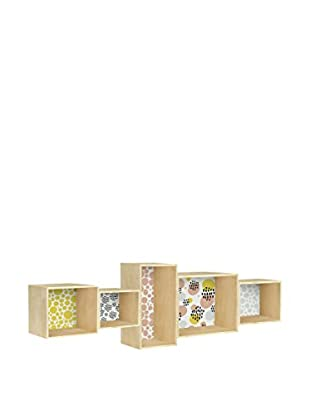 Little Nice Things Wandregal Bookcase Geometric