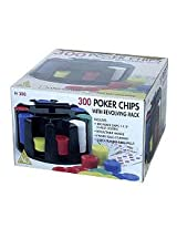 John Hansen Revolving 300 Poker Chips Rack Accessory