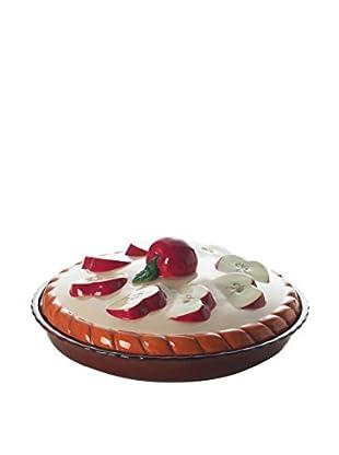 Enjoy Home  Tortenform Apple braun/rot/beige
