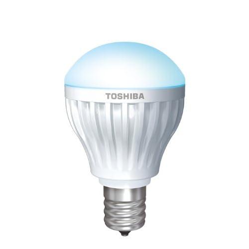 TOSHIBA E-CORE LED電球 ミニクリプトン形3.4W E17口金(昼白色相当) LDA3N-E17