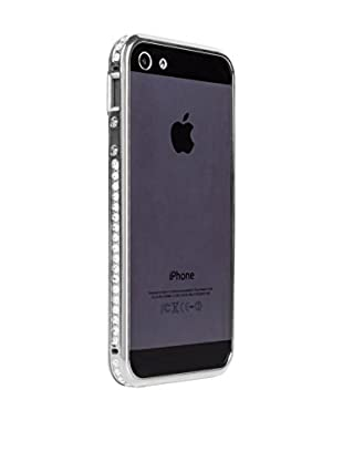 imperii Hülle Bumper Diamond iPhone 5 / 5S silber