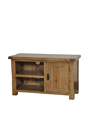 Gallerie Décor Oakdale TV Cabinet, Natural Oak