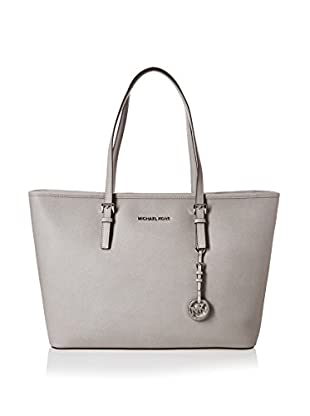 Michael Kors Bolso shopping Jet Set Travel Medium Saffiano Top-Zip Tote