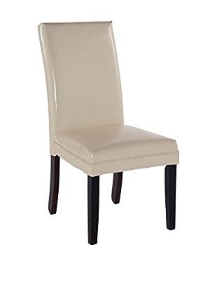 Bassett Mirror Company Presto Classic Parsons Chair, Khaki