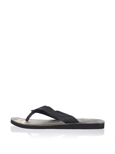 John Varvatos Star USA Men's Rockaway Sandal (Black)