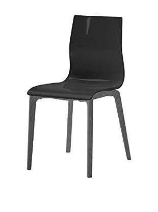 Domitalia Gel Chair, Black/Black