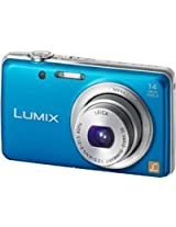 Panasonic FH6 Point & Shoot Camera with 14.1MP, 5x Optical Zoom and 2.7 inch Screen (Blue)