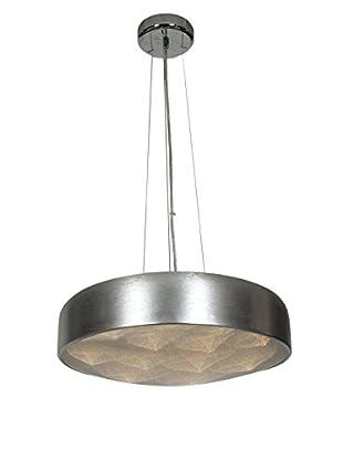 Access Lighting Meteor 12-Light LEDPendant, Brushed Silver/Acrylic