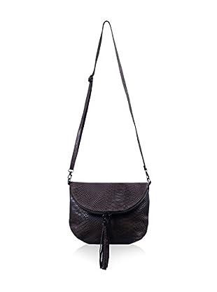 Carla Belotti Bandolera Handbag Sandy Black