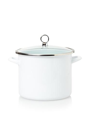 Reston Lloyd Calypso Basics 8-Quart Stock Pot (White)