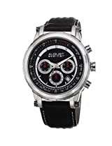 August Steiner Black Mens Watch As8085Bk