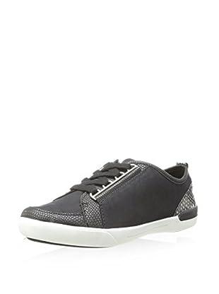 Calvin Klein Women's Tanita Sneaker (Black/White)