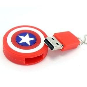 The Fappy Store Captain America 8 GB Pen Drive