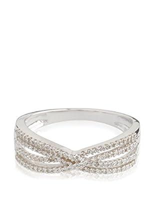 PARIS VENDÔME Ring Croisillons De Diamants