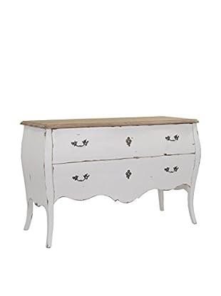 Jeffan Fiji Solid Wood 2-Drawer Dresser, White