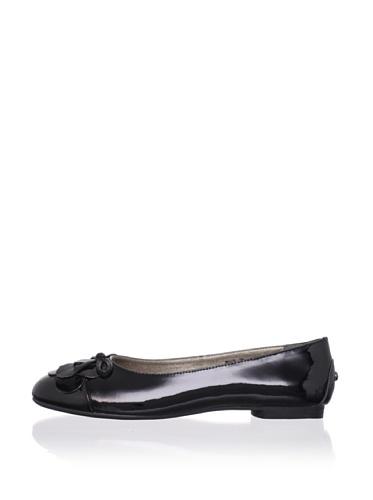Adone Vitali by J. Loren Kid's Joyce Dress Shoe (Black)