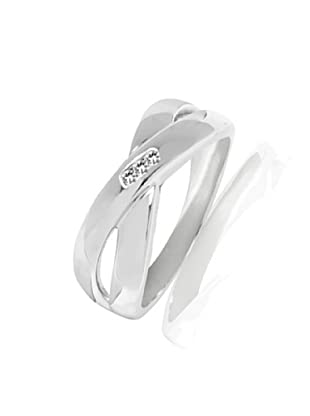 Secret Diamonds Ring Sterling Silber Diamant (Plata)