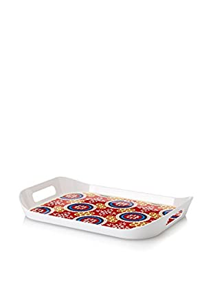 Q Squared NYC Montecito Large Tray, Red