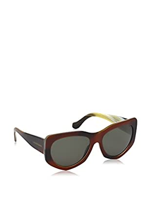 Balenciaga Sonnenbrille BA0018-58 17 145 47N (58 mm) bordeaux