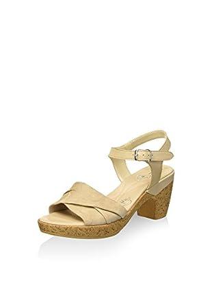Bata Touch 6668203 Sandali con cinturino alla caviglia, Donna, Beige, 39
