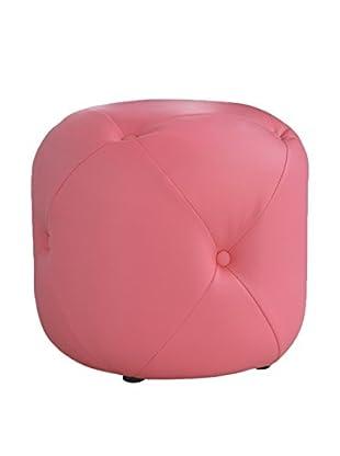 Cribel Puff Cubix Rosa