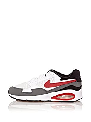 Nike Zapatillas Air Max St(Gs) (Blanco / Rojo / Gris)