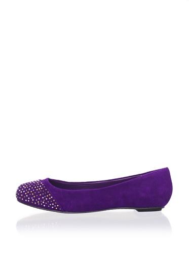 Dolce Vita Women's Nirvana Cap Toe Ballet Flat (Purple)