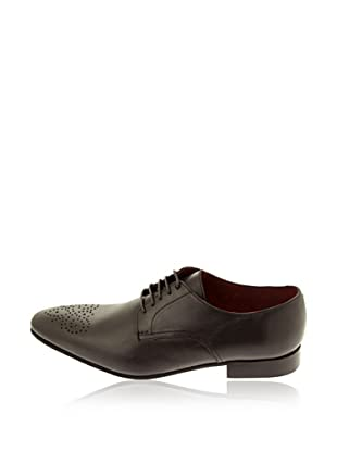 Pascal Morabito Zapatos Derby Ross (Chocolate)