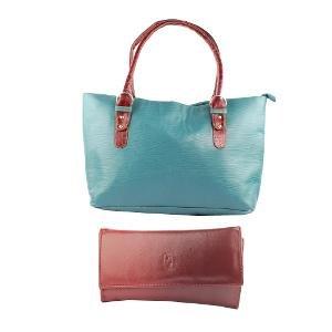 Women's Handbag & Wallet - Fidato Combo