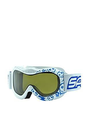 salice occhiali Maschera Da Sci 601DAD Bianco/Blu