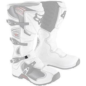 Fox Racing Comp 5 Boots Buckle Strap Pass - White