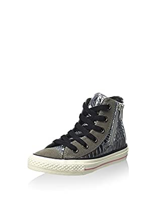 Converse Zapatillas abotinadas All Star Hi Side Zip Leat/Sued