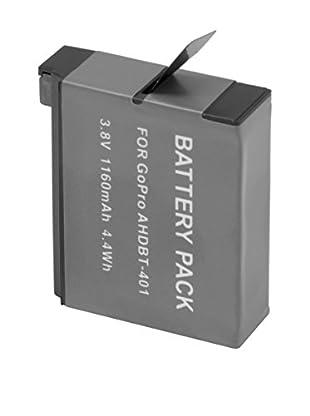 Unotec Batterie GoPro Hero 4 Mini-Sport Kamera Nero
