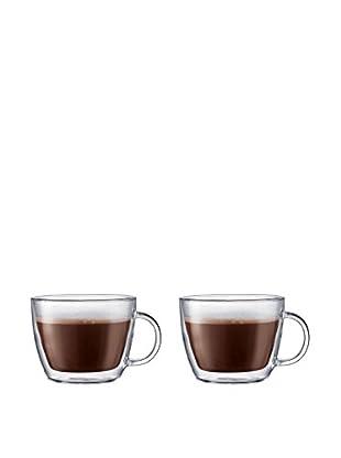 Bodum Bistro Set of 2 Double-Walled 15-Oz. Caffé Latte Mugs