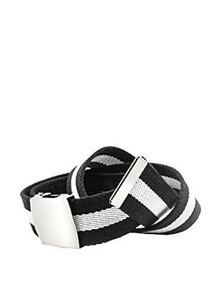 F&P Cinturón Con Monedero Oculto Negro