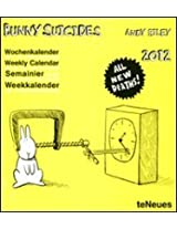 2012 Bunny Suicides Weekly Postcard Calendar