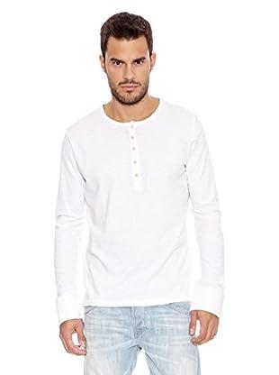 Pepe Jeans London Camiseta Manga Larga Alan (Blanco)