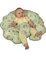 Leachco Cuddle-U Original Nursing Pillow, Green Bears